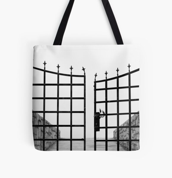 open gate All Over Print Tote Bag