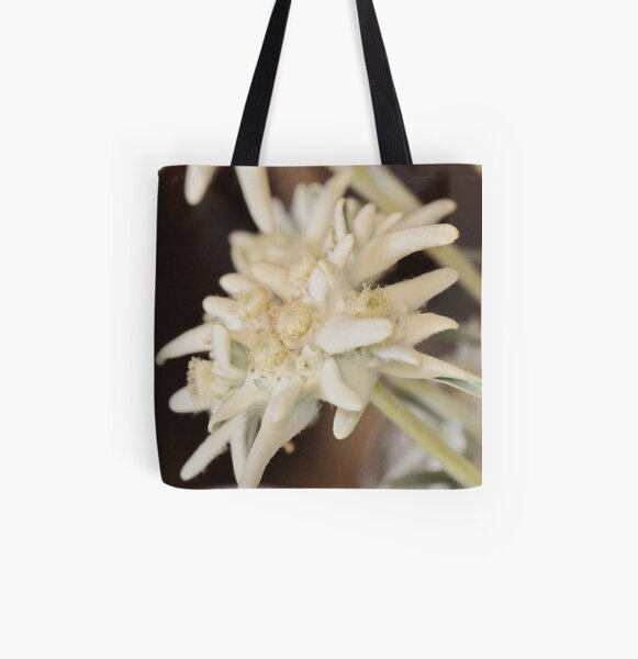 Edelweiss All Over Print Tote Bag