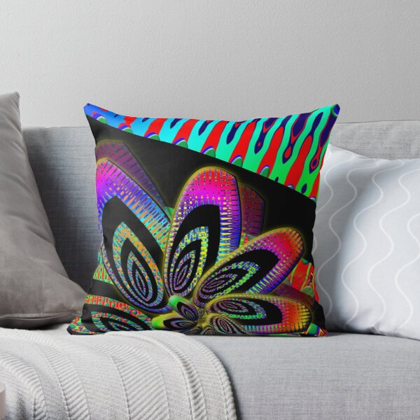 Wheee Throw Pillow