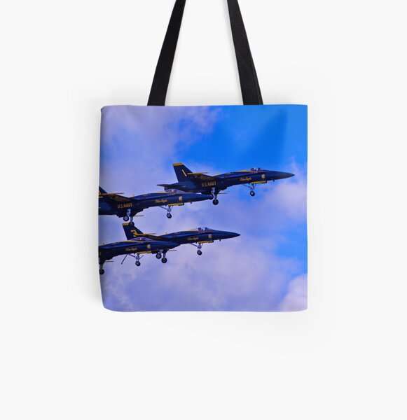 One-Two-Three-Four All Over Print Tote Bag