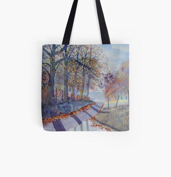 ABSOLUTELY AUTUMN – TROUTSDALE All Over Print Tote Bag