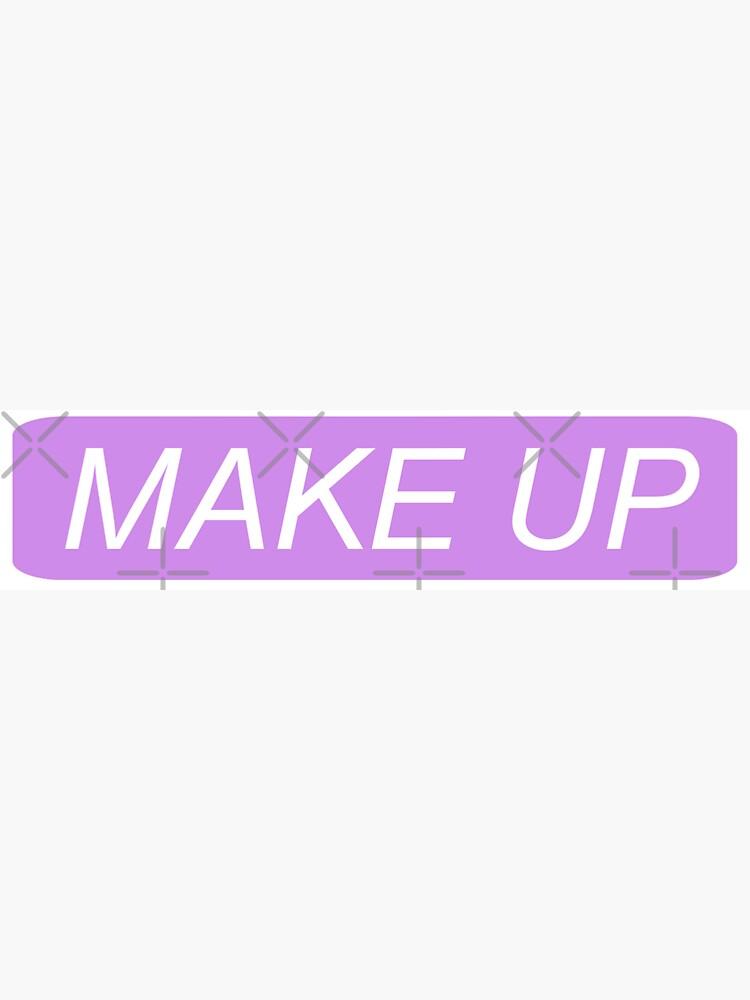 Make-up - Danke, als nächstes von shopariana1993
