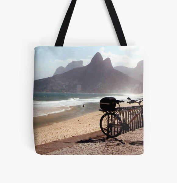 Ipanema Beach All Over Print Tote Bag