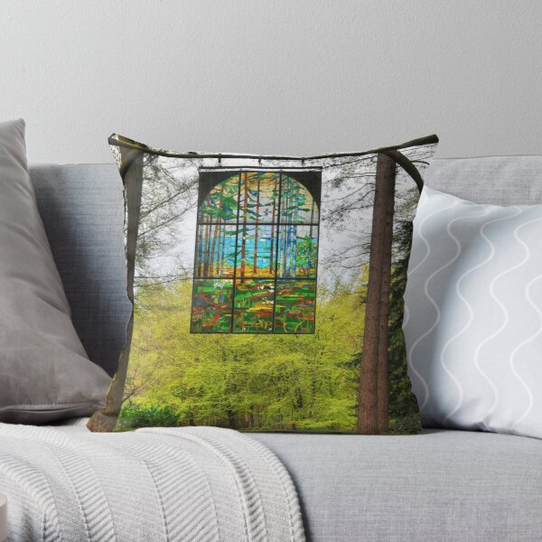 The Forest of Dean Throw Pillow
