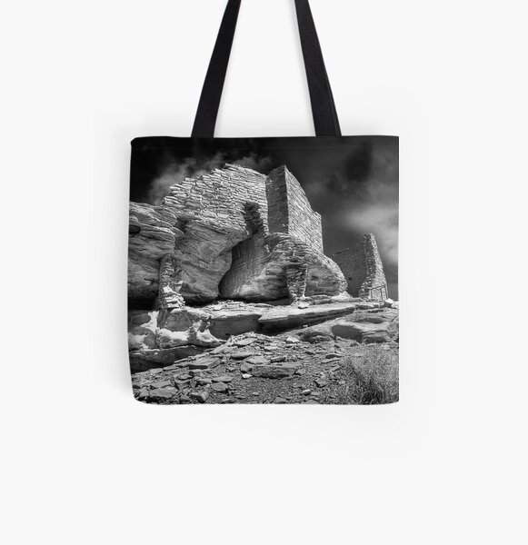 Long Ago All Over Print Tote Bag