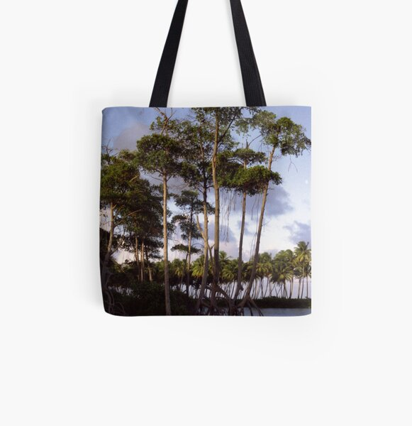 Mangrove All Over Print Tote Bag
