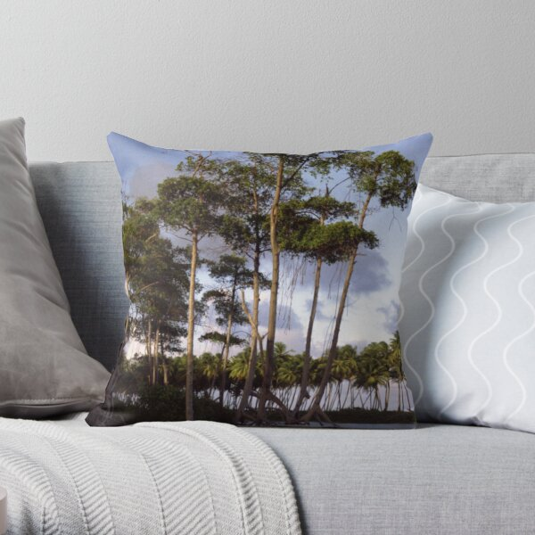 Mangrove Throw Pillow