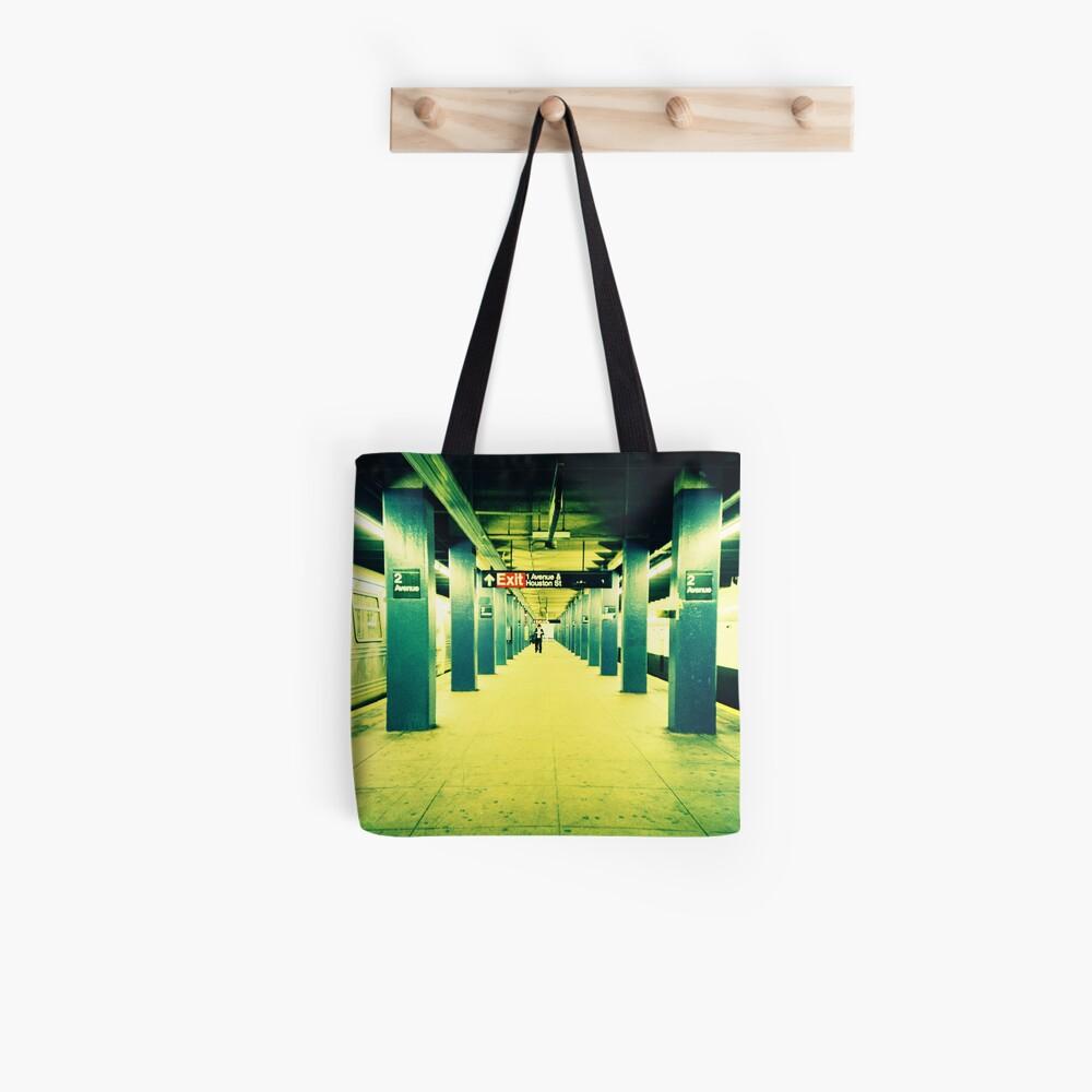 Subway Platform Tote Bag