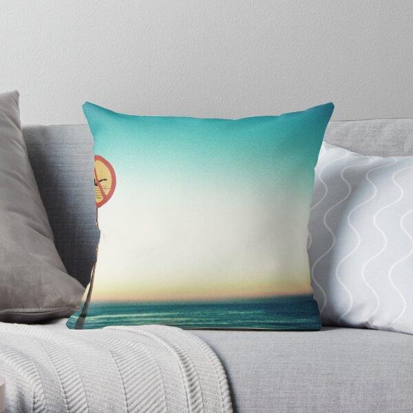 Strandhill Sunset Throw Pillow