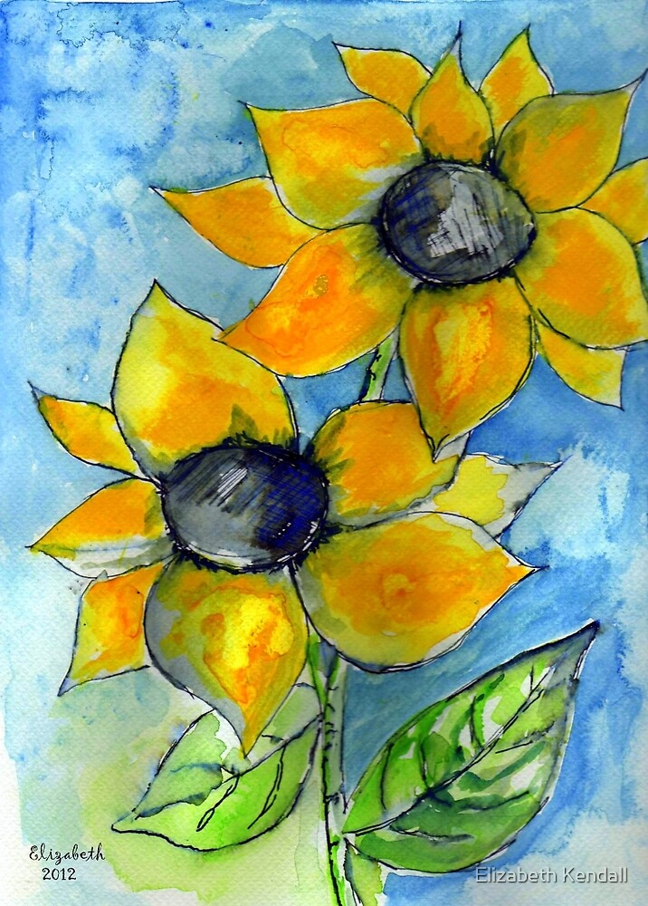 Summer is a yellow flower by Elizabeth Kendall