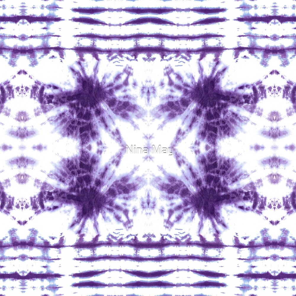 Shibori Beach Violet by Nina May