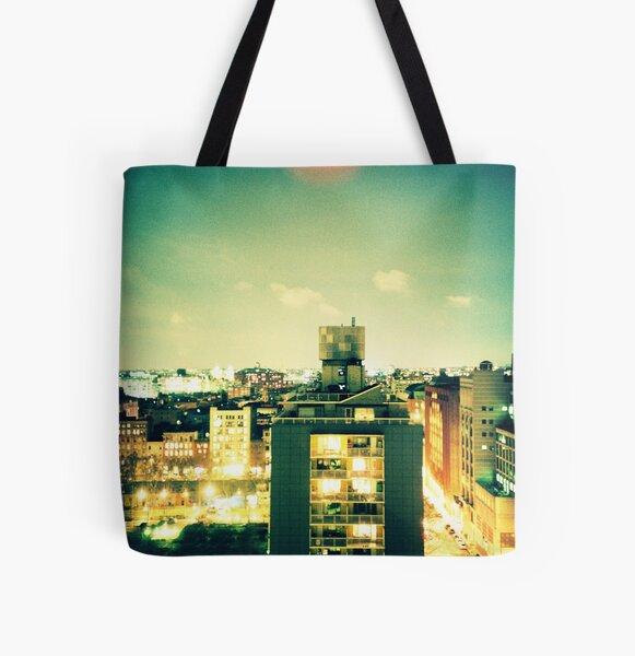 NYU All Over Print Tote Bag