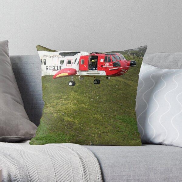Mountain Rescue Throw Pillow