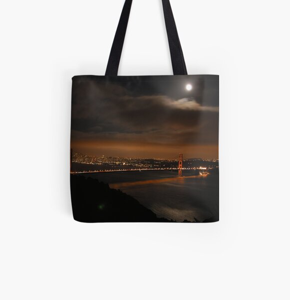 The Golden Gate Bridge All Over Print Tote Bag