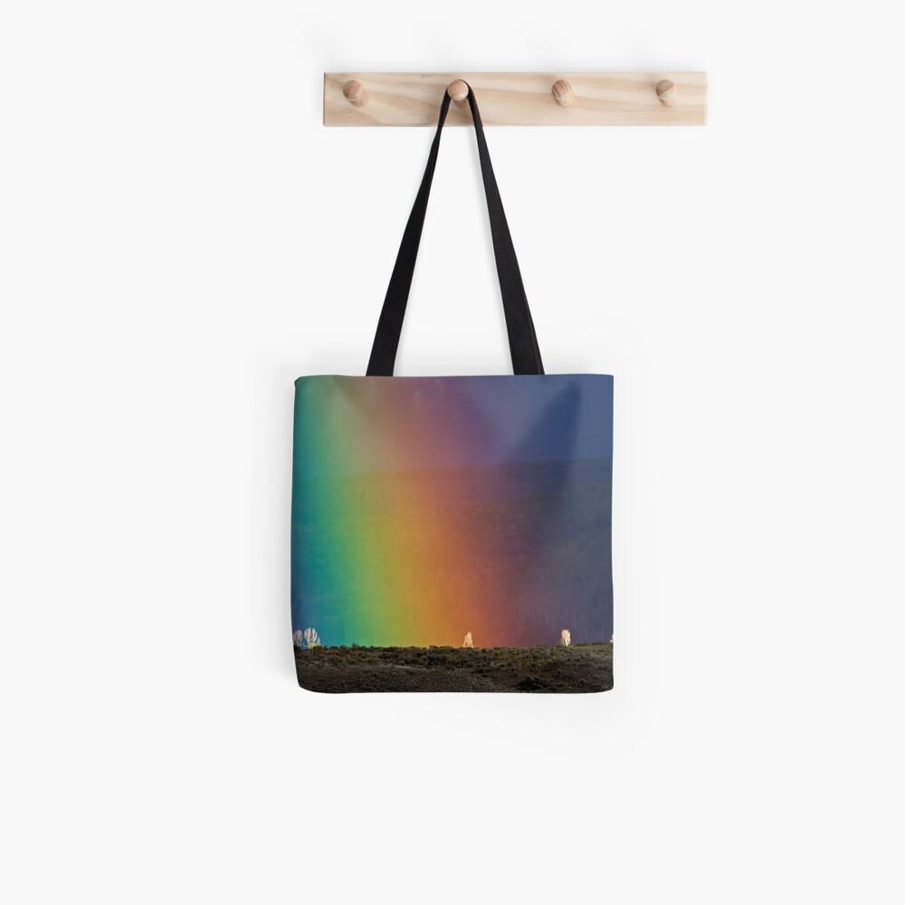 Rainbow Air, Ghost Trees Tote Bag