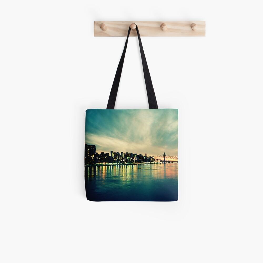 Hudson Cityscape Tote Bag