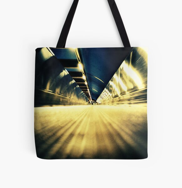 Stockholm Underground All Over Print Tote Bag
