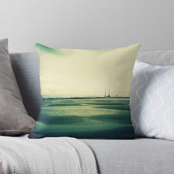 Sandymount at Low Tide Throw Pillow