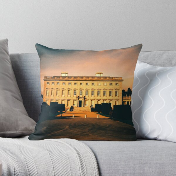 Castletown House Throw Pillow
