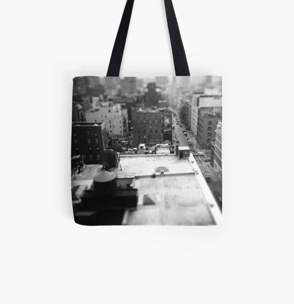 Balcony Tilt-Shift All Over Print Tote Bag