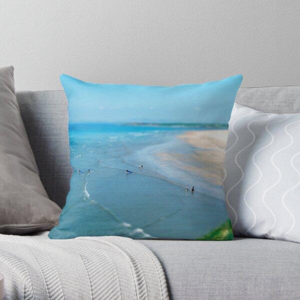 Tullan Strand Tilt-Shift Throw Pillow