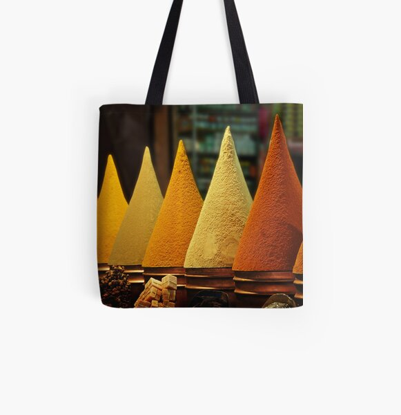 Moroccan Spice Rack All Over Print Tote Bag