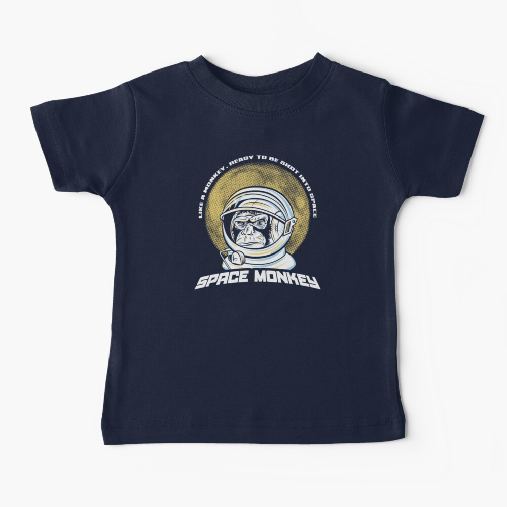 Space Monkey Baby T-Shirt