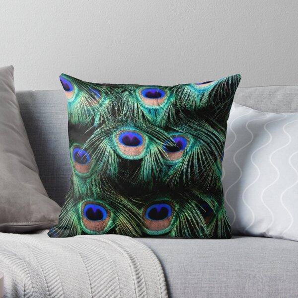 Glowing Eyes Throw Pillow