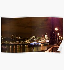 St Paul's from Southbank Poster