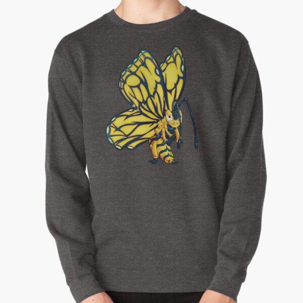 Flutter-Bee Pullover Sweatshirt