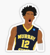 Ja Morant minimalist sticker Sticker