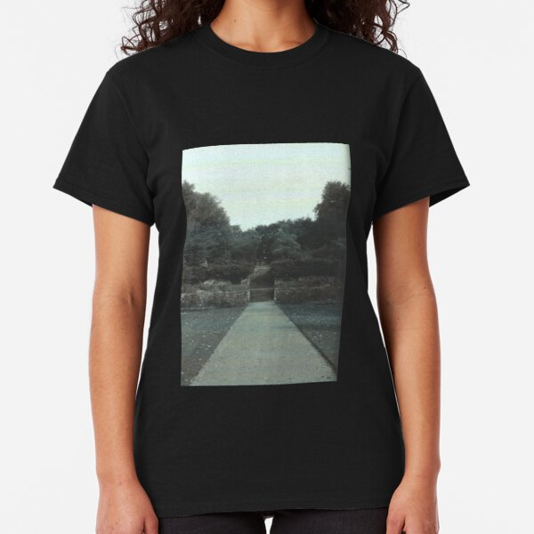 Garden View // Cold Aesthetic [Glitch] Classic T-Shirt