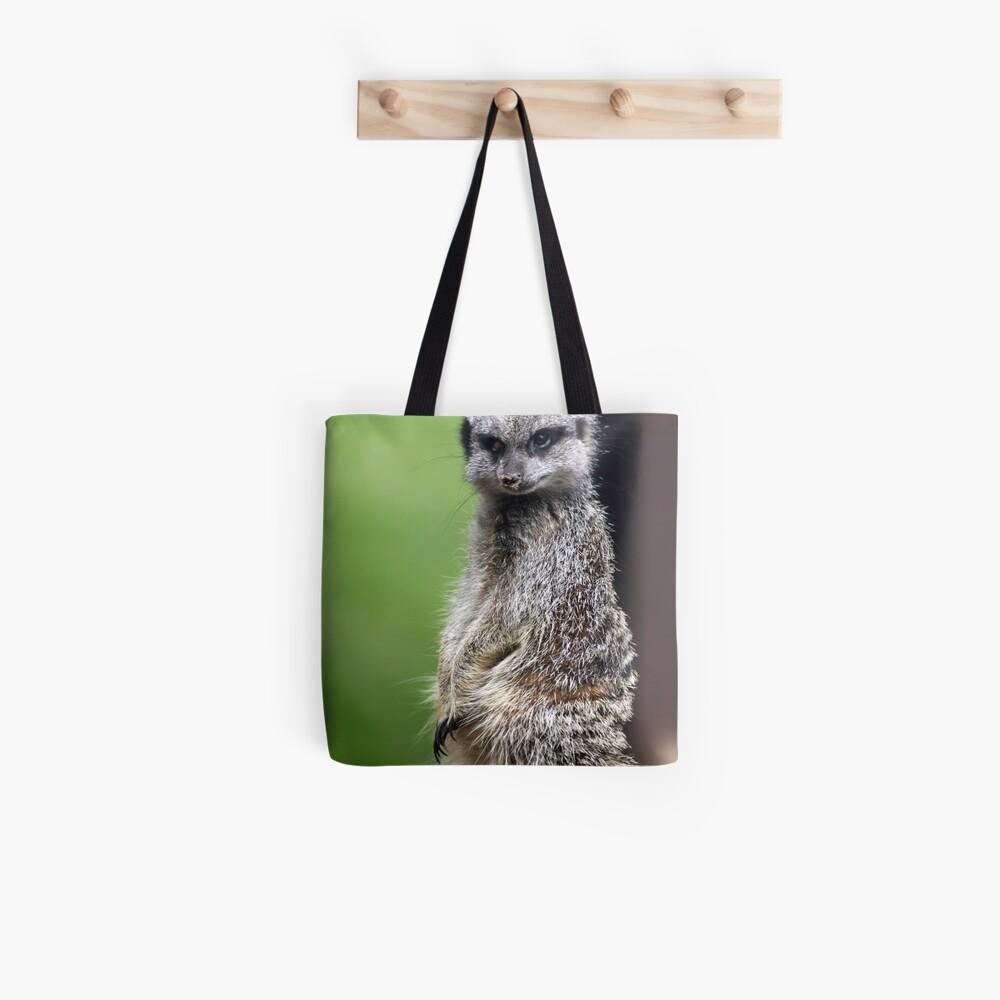 The Wily Meerkat Tote Bag