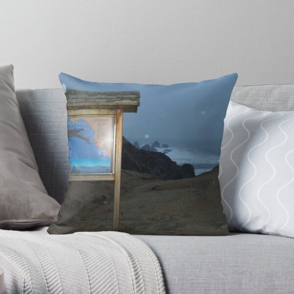 Where's the Whales? Throw Pillow