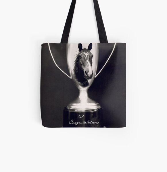 Ist Place Congratulations All Over Print Tote Bag