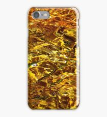 Golden Water Abstract. Feng Shui iPhone Case/Skin