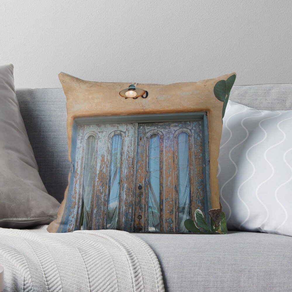 Front and Centered Throw Pillow