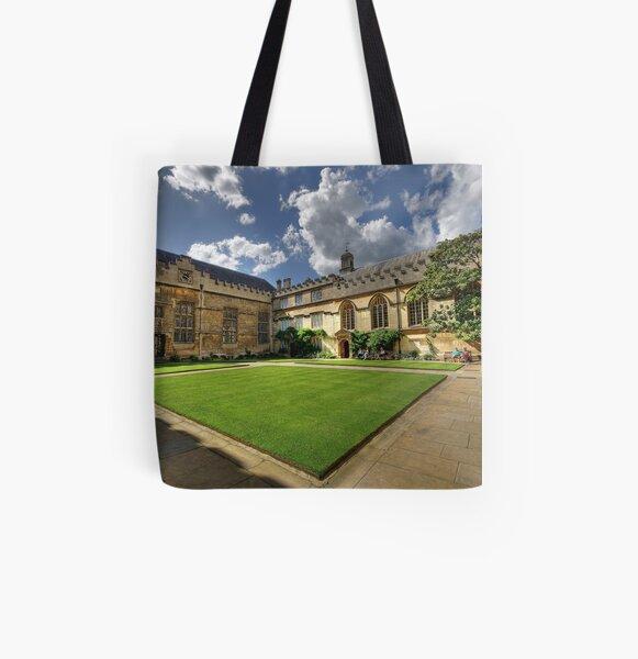 Jesus College Oxford All Over Print Tote Bag