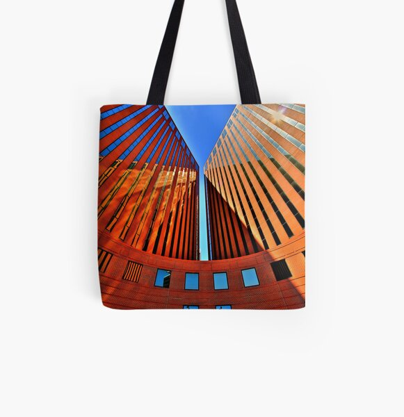 Courtyard All Over Print Tote Bag
