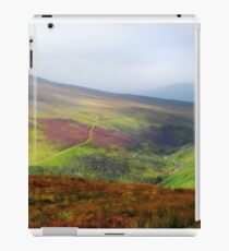 Light Over Wicklow Hills. Ireland  iPad Case/Skin