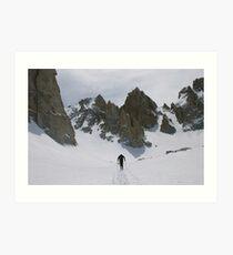 Matterhorn Peak Springtime Approach Art Print