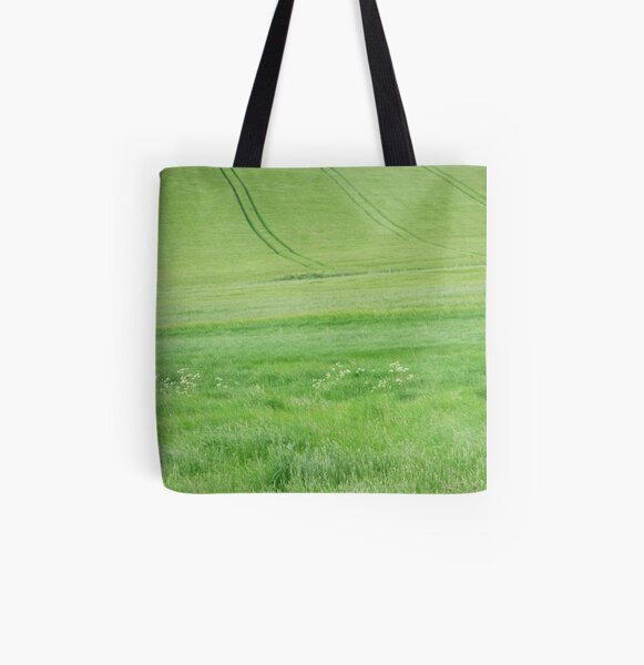 Green land All Over Print Tote Bag