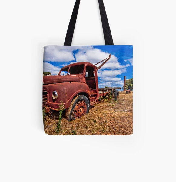 Rusty Austin All Over Print Tote Bag