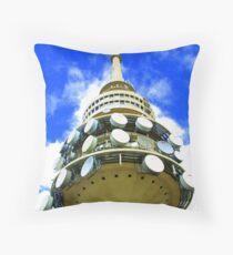 Telstra Tower Canberra Throw Pillow