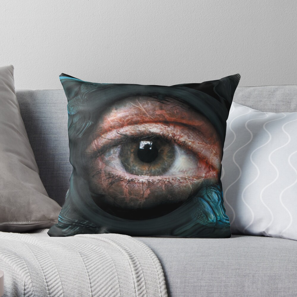 Rebirth ...  Throw Pillow