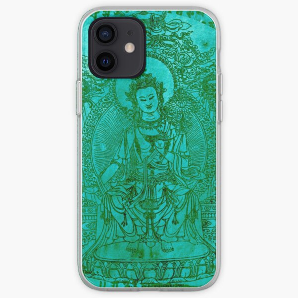 The Enlightened | Turquoise  iPhone Soft Case