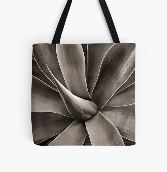Spike All Over Print Tote Bag