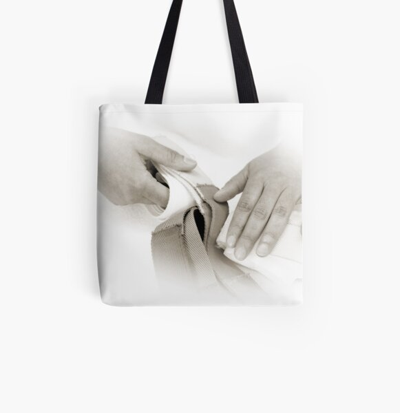 Hands: Pride All Over Print Tote Bag