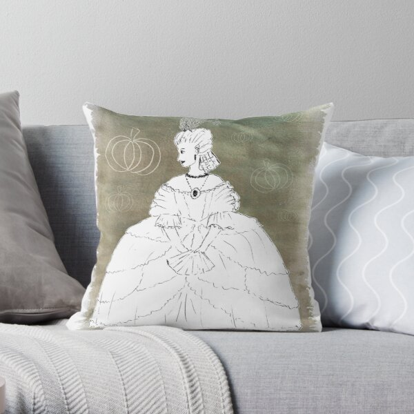 Cinders for the Wall Throw Pillow