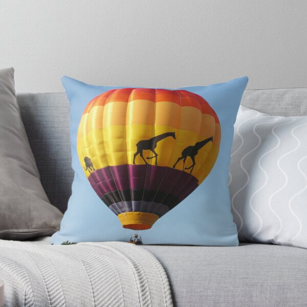 Pittsfield Hot Air Balloon Rally 2009 III Throw Pillow